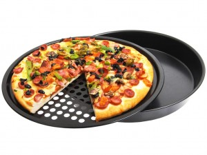 FORMA BLACHA DO PIZZY 2 SZT NON STICK 30 CM